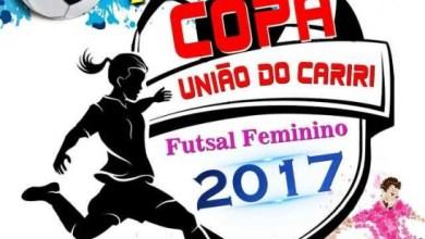 Copa União de Futsal Feminino do Cariri terá início neste sábado 3