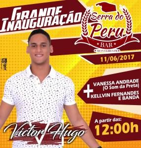 É NESTE DOMINGO (11)  Grande inauguração do BAR SERRA DO PERU 1