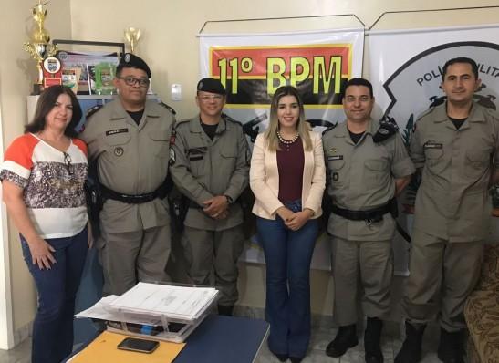 Prefeita de Monteiro discute plano de segurança para as festividades juninas 1