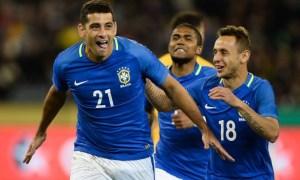 Com direito a gol relâmpago, Brasil vence Austrália por 4 a 0 1