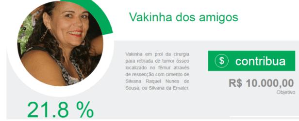 sss-1 Solidariedade: Vakinha dos amigos para arrecadar fundos para uma cirurgia da amiga Silvana Nunes