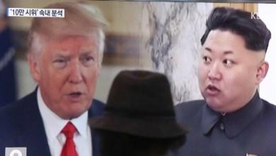 Soluções militares estão preparadas contra a Coreia do Norte, diz Trump 2