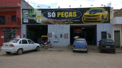 Exclusivo: Bandidos invadem loja de Auto Peças e arrombam cofre em Monteiro 5