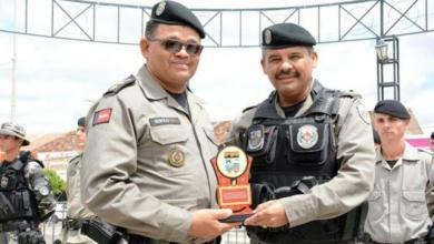 Major Gilberto recebe homenagem do Batalhão de Polícia Militar de Monteiro 4