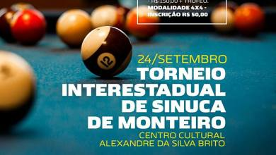 Torneio Interestadual de Sinuca de Monteiro 2