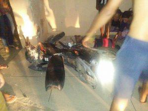 acidente-em-sumé-300x225 Jovem sofre acidente de moto em Sumé