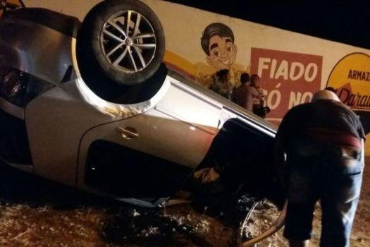 racha_-_cajazeiras Disputa de racha termina com capotamento de veículos na PB
