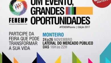 Feira de Negócios e Empreendedorismo acontece entre dias 24 e 26, em Monteiro 7