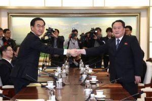 Coreia-do-Norte-aceita-mandar-atletas-para-Olimpíada-após-reunião-com-Sul-300x200 Coreia do Norte aceita mandar atletas para Olimpíada após reunião com Sul