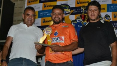 Vice-prefeito de Monteiro prestigia decisão do campeonato monteirense de futsal 7