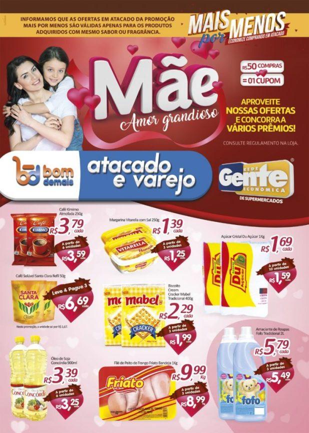 BOM-1-731x1024 Confira as Promoções do Bom Demais Supermercados, Mãe Amor Grandioso