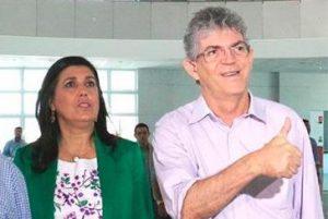 RICARDO-COUTINHO-E-LIGIA-FELICIANO-300x201 TSE muda data de julgamento de AIJE contra Ricardo e Lígia