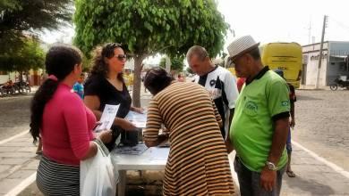 Assinaturas em Carta são recolhidas em Monteiro para ser entregue a Lula 1