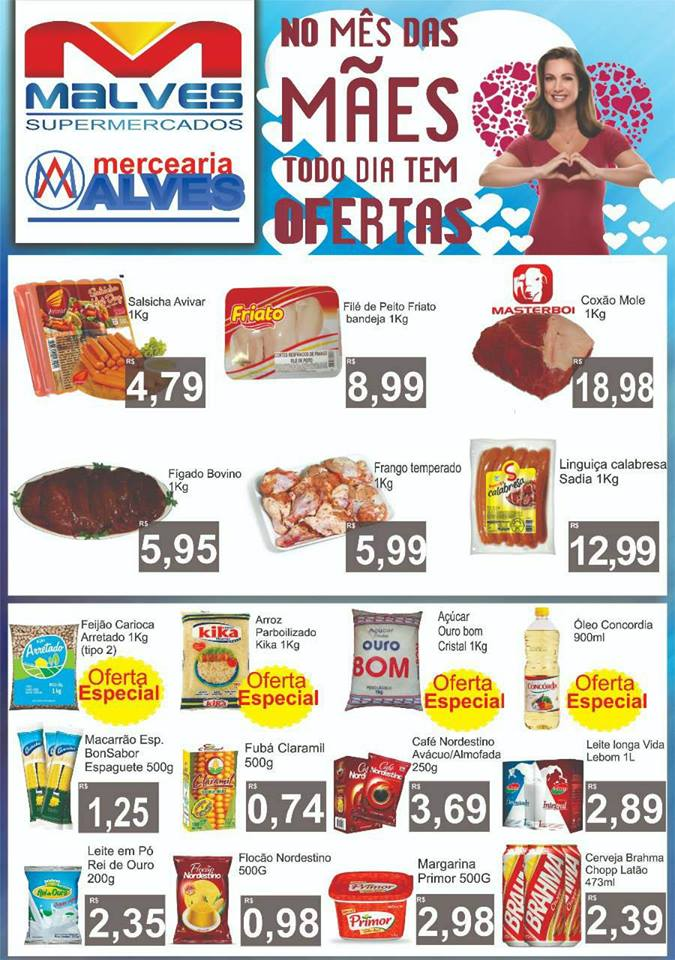 AWWW Mês das mães: Confira as novas ofertas do Malves Supermercados em Monteiro