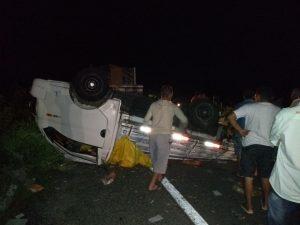 carito-300x225 Comerciante Monteirense sofre acidente de carro na BR-412 no Cariri após pneu estourar