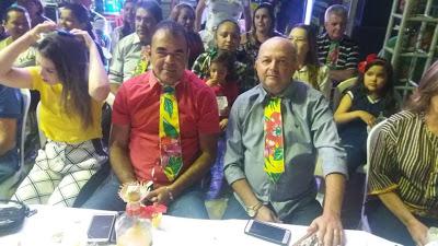 BERO-E-CELE Vereadores de Monteiro prestigiam quadrilha junina da Secretaria de Desenvolvimento Social