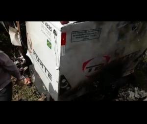 CARRO-FORTE-300x254 Carro-forte é explodido em rodovia federal da PB por grupo armado
