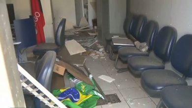 Grupo explode agência e invade correspondente bancário no Cariri 4
