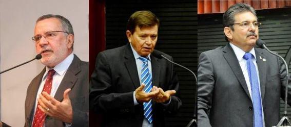batinga-adriano-joao-henrique PESQUISA CONSULT: Três candidatos caririzeiros estão entre os 36 mais citados para a AL-PB