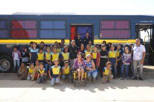 fetran-na-escola-adalice3-300x200 Alunos de escolas Municipais recebem palestras da Polícia Rodoviária Federal em Monteiro