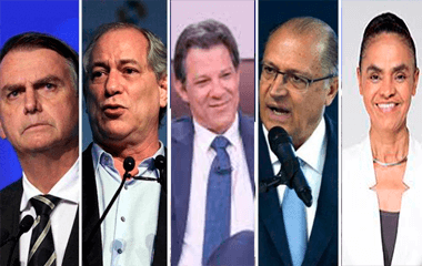 14-09-2018.223736_aqoesia Pesquisa Datafolha: Bolsonaro, 26%; Ciro, 13%; Haddad, 13%; Alckmin, 9%; Marina, 8%