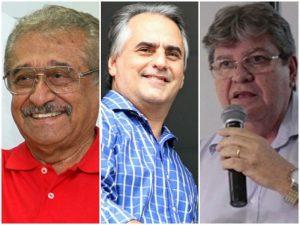 maranhao-lucelio-joao-azevedo-300x225 A 7 dias da eleição, João lidera com 35%; Lucélio e Maranhão empatam