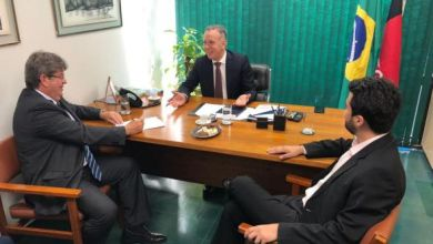 João Azevêdo se reúne com Aguinaldo e Wilson Filho em Brasília 5