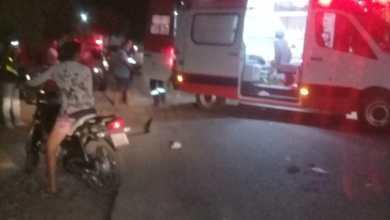 Em Monteiro: Colisão entre motocicletas deixa duas pessoas feridas 6