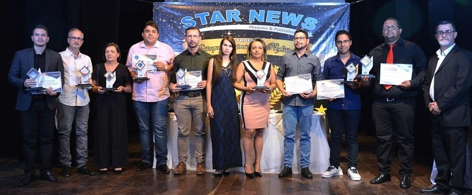 trofeu-destaque-do-ano Star News Pesquisa e Publicidade realiza entrega do Troféu Destaque do Ano em Monteiro