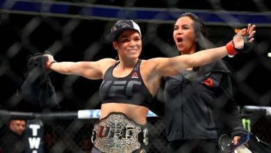 Pipocou: Amanda Nunes vence Cyborg no primeiro round por nocaute; veja vídeo da luta 5