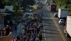 36. Migrantes da América Central entram no México