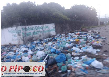 LIXO Sem coleta de lixo moradores de cidade da Paraíba vivem cenário apocaliptístico