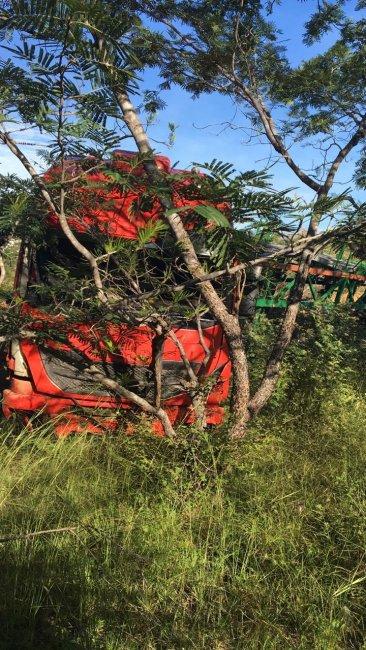WhatsApp-Image-2019-04-29-at-21.03.48-366x650 Carreta de Monteirense quebra barra de direção e invade matagal no Piauí