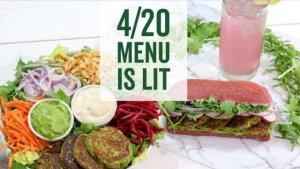 xcardapio-canabitol 4:20: Restaurantes vão servir pratos com canabidiol para o 'dia da maconha'
