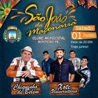 Em Monteiro:1º Forró da Maçonaria