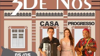 Projeto Lítero-musical 3 de Nós Será lançado em Monteiro na casa progresso. 3