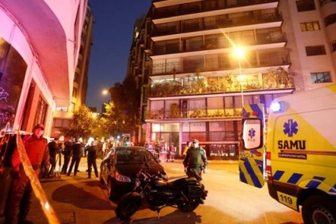 CHILE-MORTES-585x390 Vazamento de gás: Brasileiros são encontrados mortos em apartamento no Chile