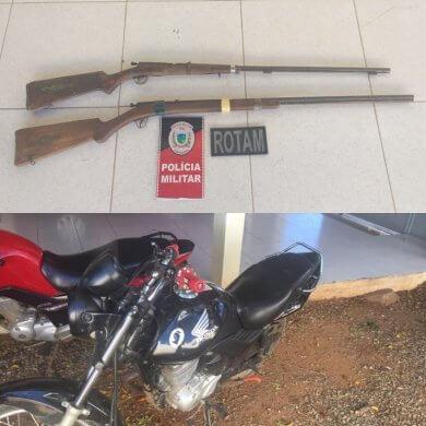 armas_presa_moto_presa_monteiro-390x390 Dois Homens são presos suspeitos de assaltos em Monteiro