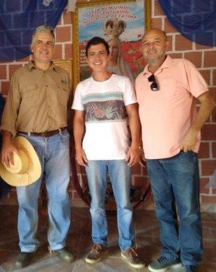 cajo_bero-310x390 Presidente da Câmara de Monteiro participa de cavalgada e visita à santuário