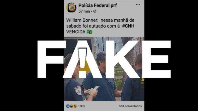 fake-cnh-bonner-693x390 É #FAKE que Bonner foi autuado por dirigir com a CNH vencida