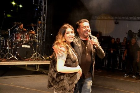 Monteiro se despede das atrações do palco principal lotando a Praça de Eventos 1