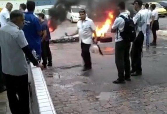 PHOTO-2019-06-14-06-05-42-1-e1560506135272-572x390 Greve geral: manifestação em João Pessoa impede circulação de ônibus