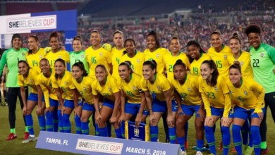Estreia do Brasil na Copa do Mundo Feminina dobra audiência de emissora 6