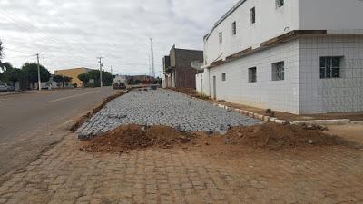 20190704_081548 Prefeitura Municipal continua realizando uma das maiores obras de calçamento de ruas da história de Zabelê