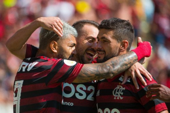 FLAMENGO-588x390 Flamengo busca, hoje, vaga na semi da Copa do Brasil contra Athletico-PR
