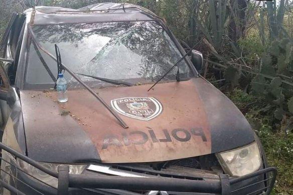 CARRO-CAPOTAHEM-584x390 Delegada é vítima de capotamento de carro em Barra de Santa Rosa