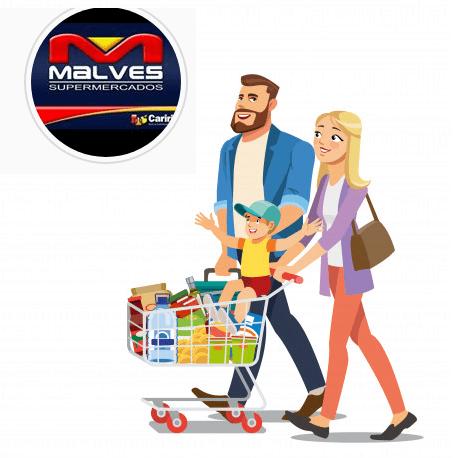 malves-ai Pai feliz é no Malves Supermercados em Monteiro;Confira promoções