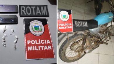 Polícia apreende drogas, celulares e moto em Monteiro 4