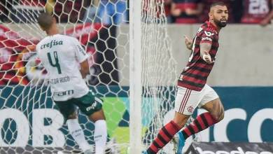 Flamengo vence fácil, mantém liderança e agrava crise no Palmeiras 3