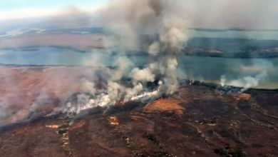 Incêndios atingem mais de 6 mil hectares na Chapada dos Guimarães 2